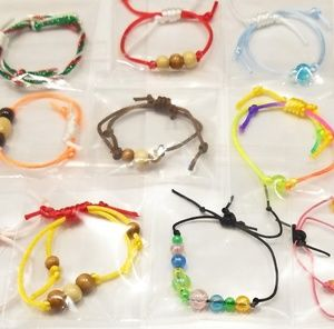 Jewelry - ☂️Friendship bracelets party favors - goody bags☂️
